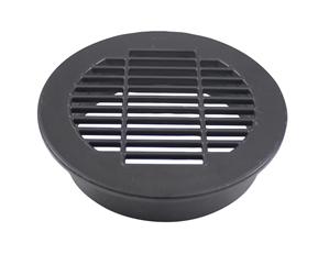Vent Grill Plastic Black