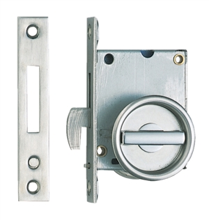 Sugatsune Sliding Door Latch Recessed Lever Stainless